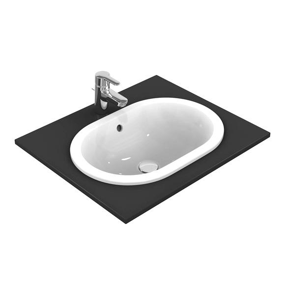 ideal standard connect einbauwaschtisch oval ohne ideal plus e504501 reuter onlineshop. Black Bedroom Furniture Sets. Home Design Ideas