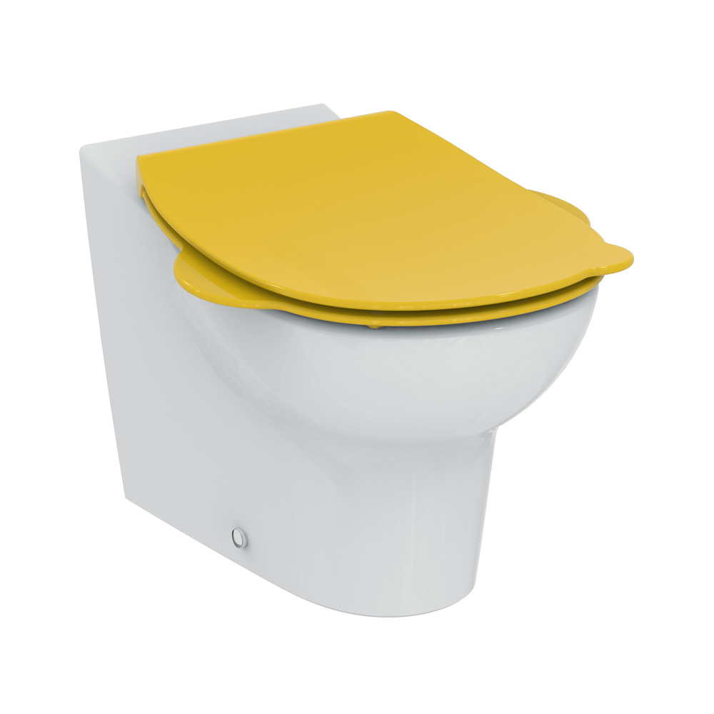 ideal standard contour 21 schools kinder wc sitz gelb s453379 reuter onlineshop. Black Bedroom Furniture Sets. Home Design Ideas