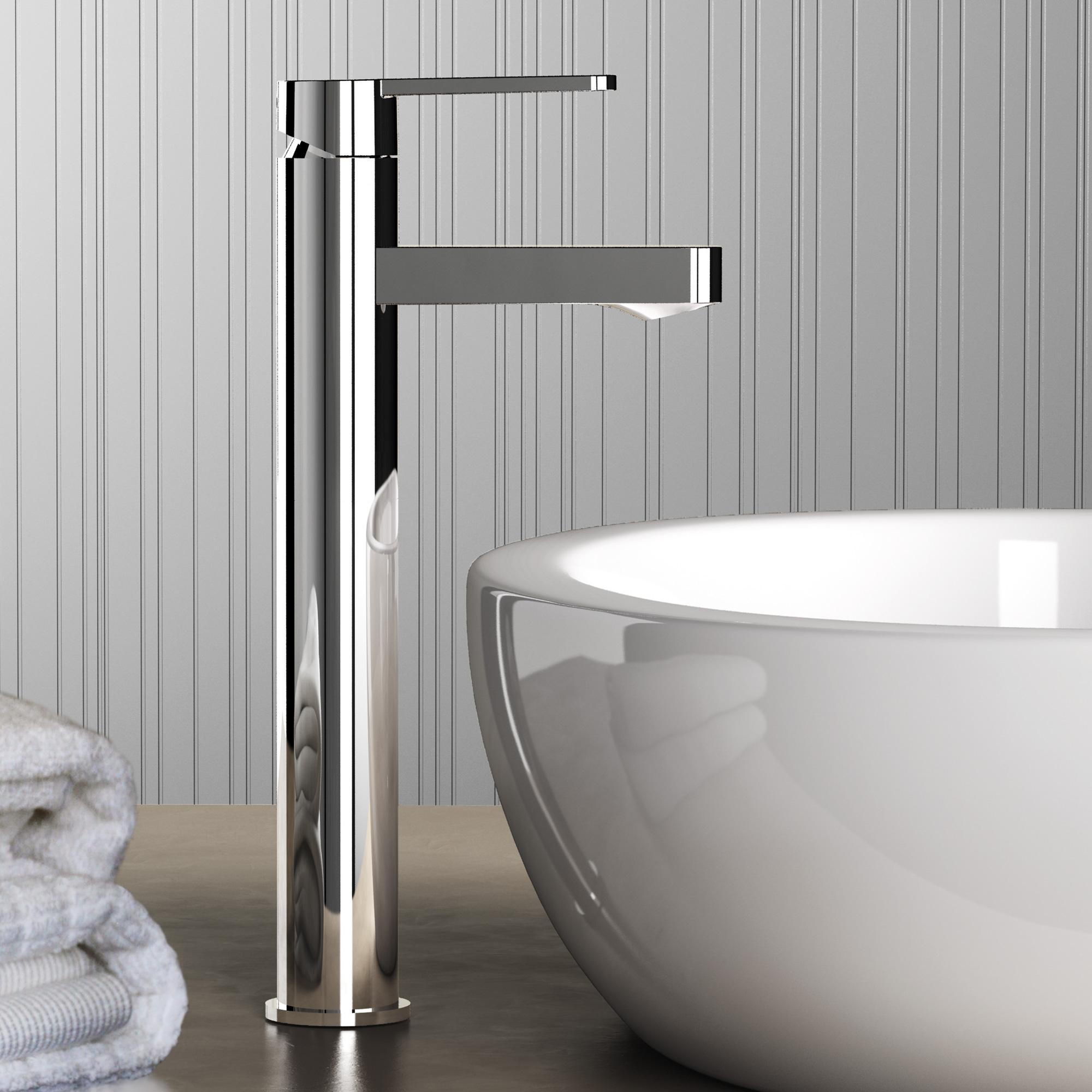 ideal standard gio einhebel waschtischarmatur mit verl ngertem sockel ohne ablaufgarnitur. Black Bedroom Furniture Sets. Home Design Ideas