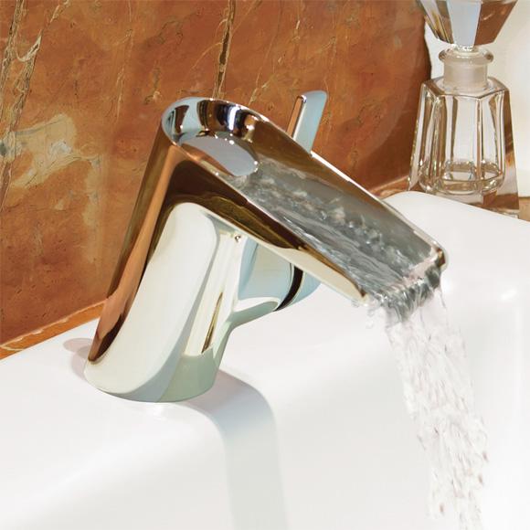 ideal standard melange einhebel waschtischarmatur wasserfall dn15 b8630aa reuter onlineshop. Black Bedroom Furniture Sets. Home Design Ideas