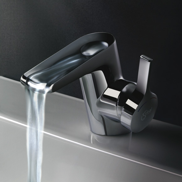 ideal standard melange single lever cascade basin mixer 1 2 b8630aa reuter. Black Bedroom Furniture Sets. Home Design Ideas