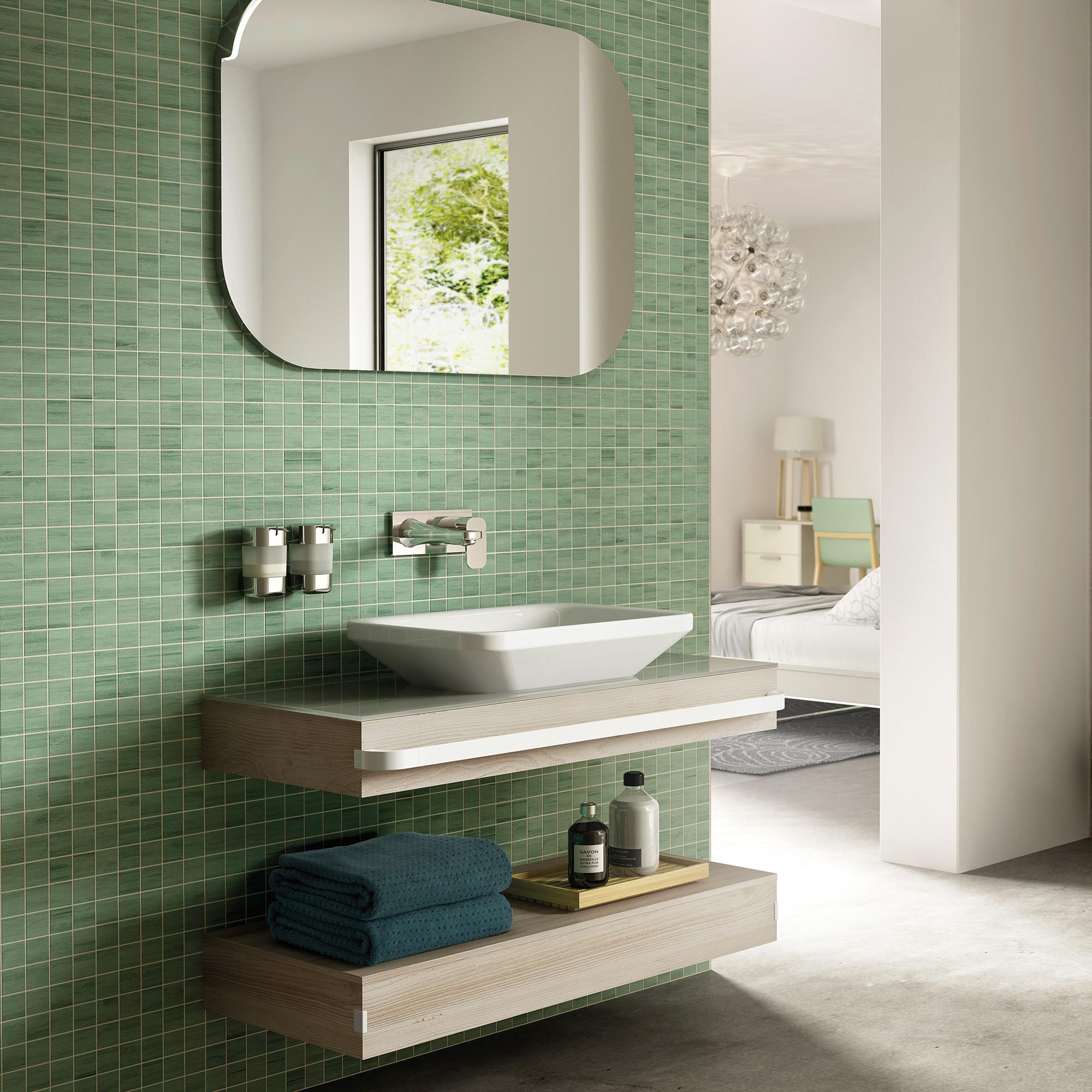 ideal standard tonic ii schale symmetrisch 55 cm wei. Black Bedroom Furniture Sets. Home Design Ideas