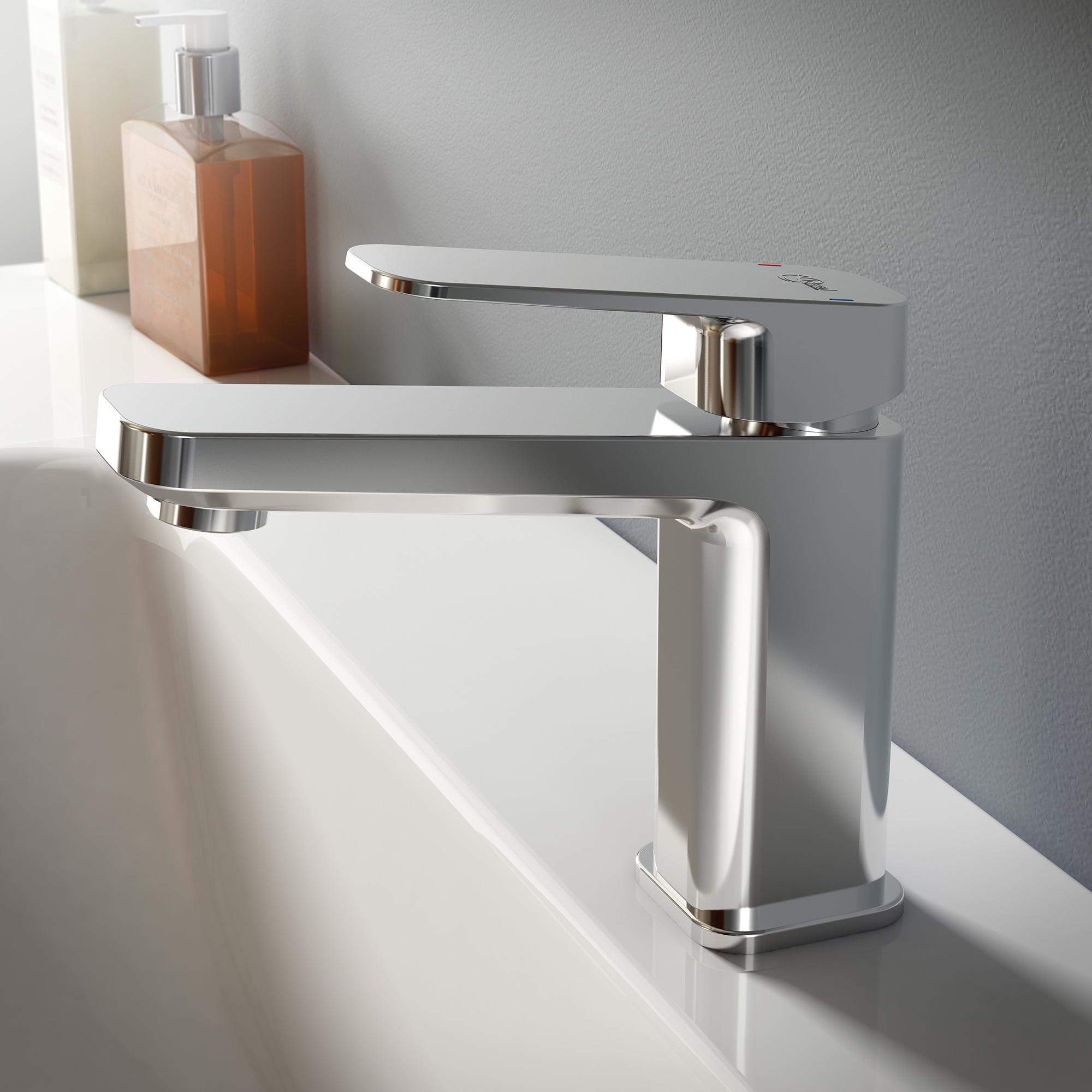 ideal standard tonic ii waschtischarmatur ohne ablaufgarnitur. Black Bedroom Furniture Sets. Home Design Ideas