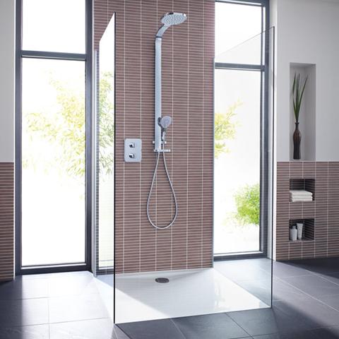 ideal standard ultra flat rechteck duschwanne bodeneben. Black Bedroom Furniture Sets. Home Design Ideas