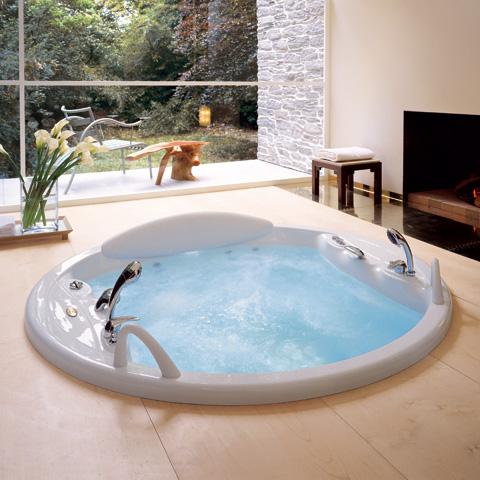 jacuzzi gemini runder whirlpool 180 x 57 cm 9443 056a reuter onlineshop. Black Bedroom Furniture Sets. Home Design Ideas