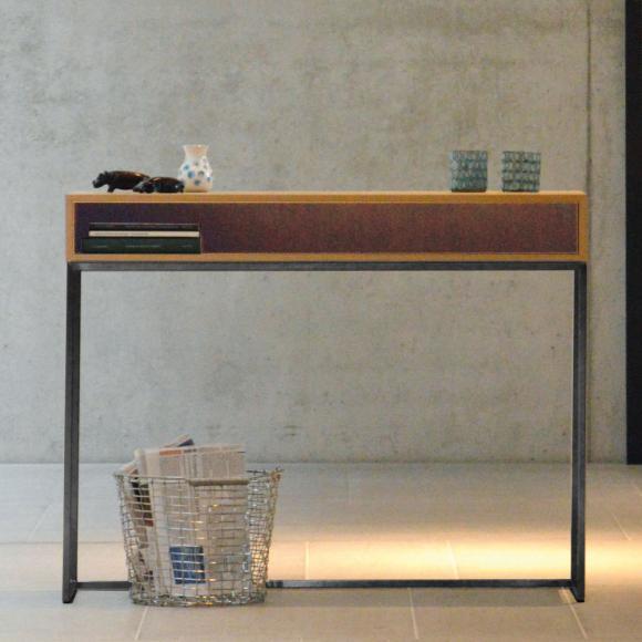 konsolentisch aus eiche machen sie den preisvergleich bei nextag. Black Bedroom Furniture Sets. Home Design Ideas