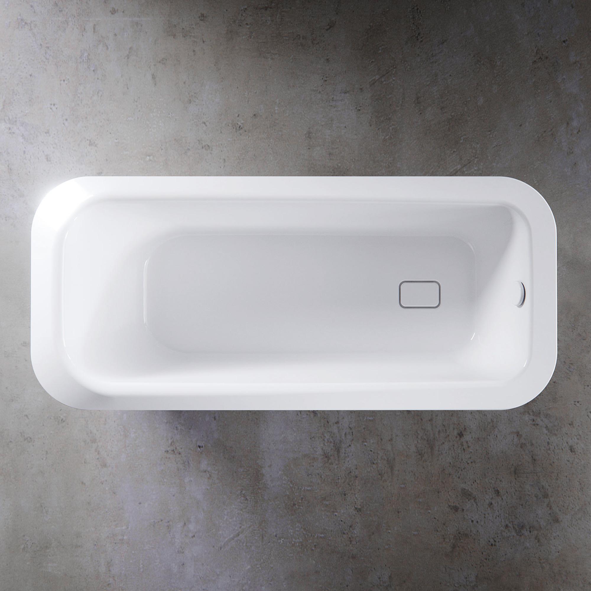 kaldewei meisterst ck emerso freistehende badewanne l 180. Black Bedroom Furniture Sets. Home Design Ideas