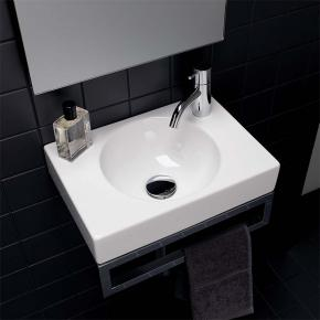 keramag preciosa ii handwaschbecken wei mit keratect 273240600 reuter onlineshop. Black Bedroom Furniture Sets. Home Design Ideas