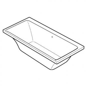 keramag myday rechteck badewanne 650570000 reuter onlineshop. Black Bedroom Furniture Sets. Home Design Ideas