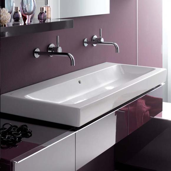 keramag icon waschtisch ohne hahnloch 124025600 preisvergleich heizung sanit r. Black Bedroom Furniture Sets. Home Design Ideas