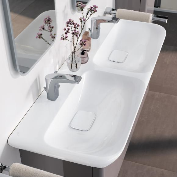 keramag myday doppelwaschtisch 135430600 alpinwei. Black Bedroom Furniture Sets. Home Design Ideas