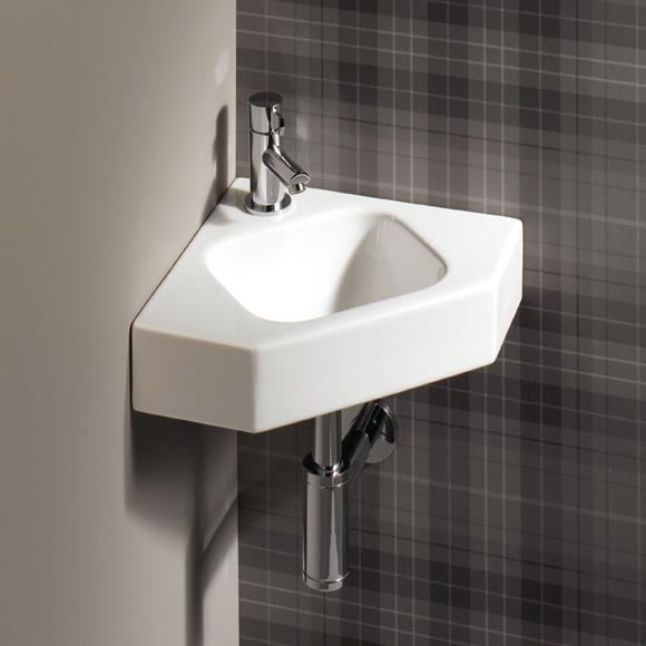 keramag icon eckhandwaschbecken wei 124729000 reuter. Black Bedroom Furniture Sets. Home Design Ideas