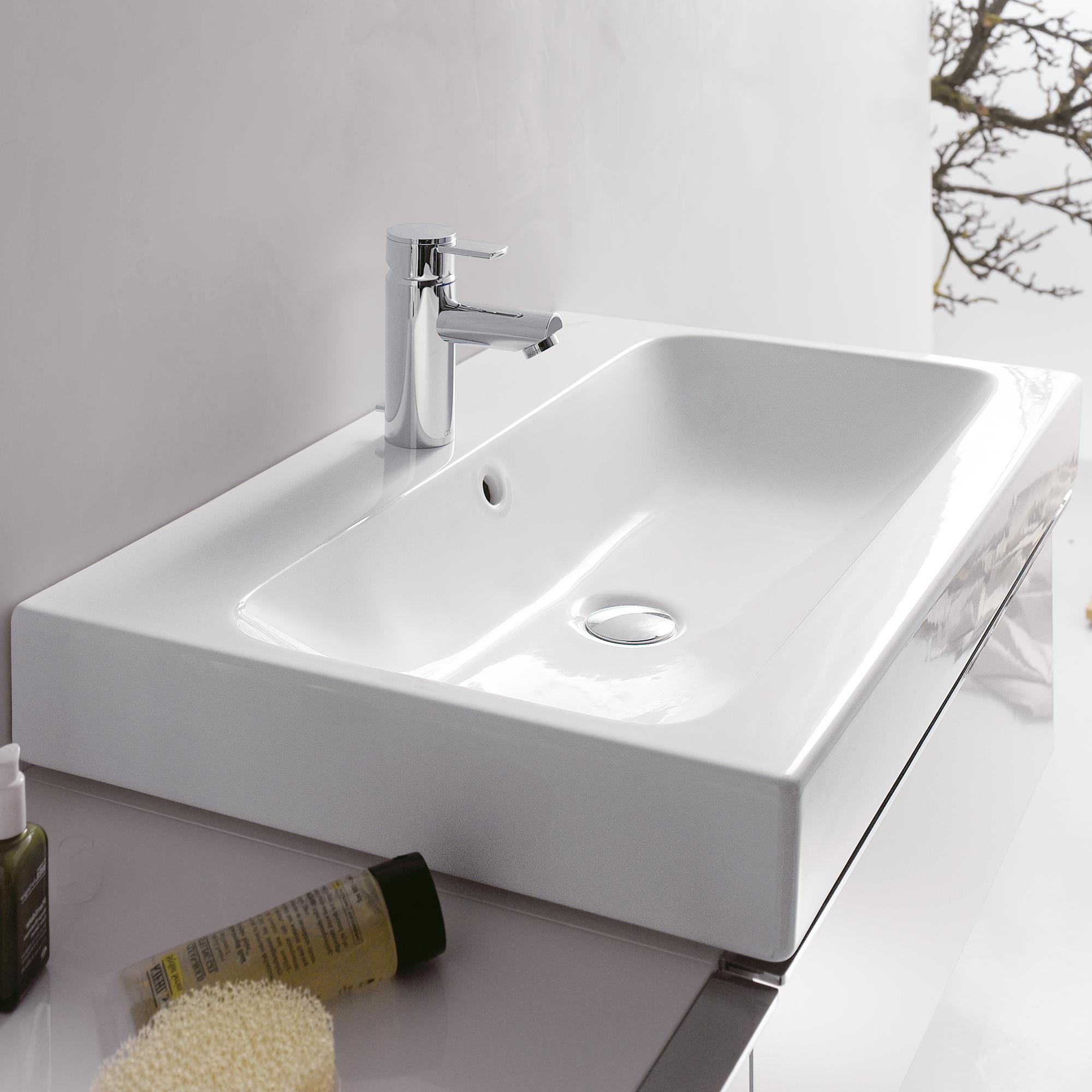 keramag icon waschtisch wei 124060000 reuter onlineshop. Black Bedroom Furniture Sets. Home Design Ideas