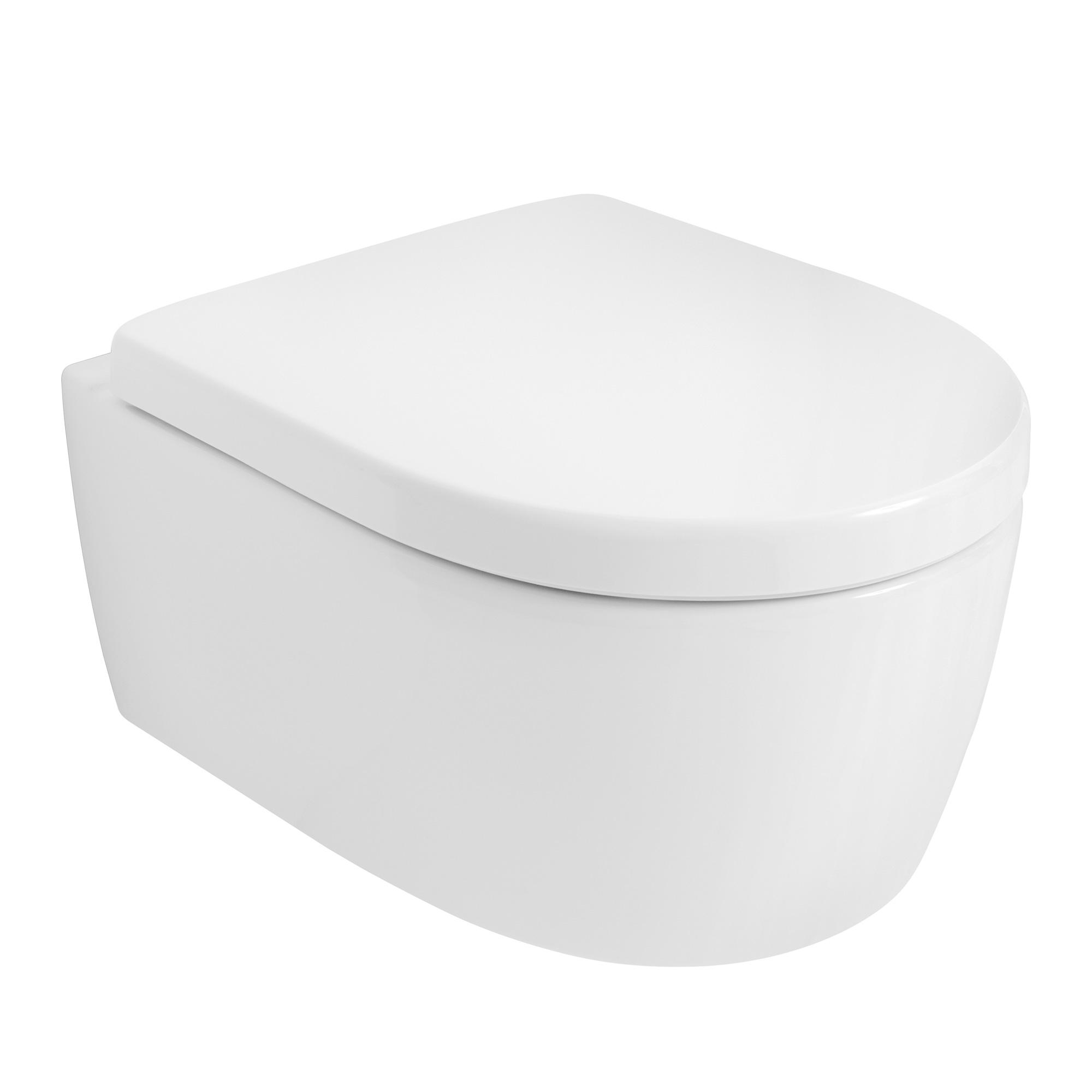 keramag icon wc sitz mit deckel nach din 19516 ohne absenkautomatik 574120000 reuter onlineshop. Black Bedroom Furniture Sets. Home Design Ideas