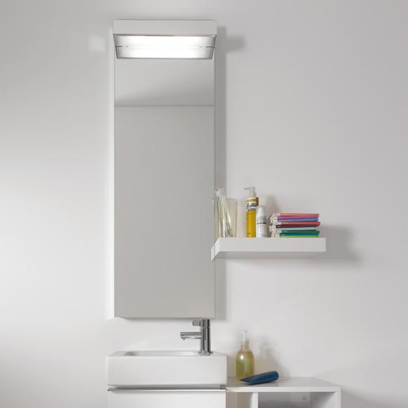 keramag icon xs ablage alpin hochglanz 840337000. Black Bedroom Furniture Sets. Home Design Ideas