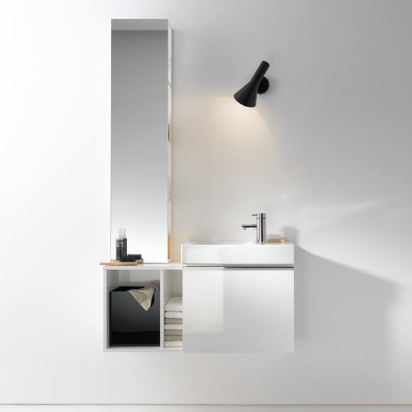 keramag icon xs waschtischunterschrank front und korpus alpin hochglanz. Black Bedroom Furniture Sets. Home Design Ideas