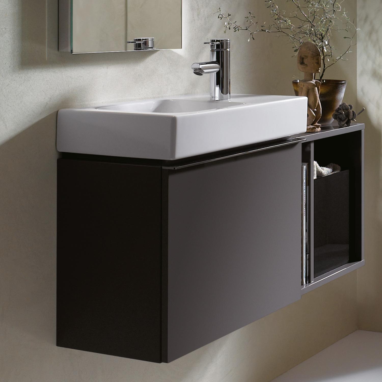 keramag icon xs waschtischunterschrank front und korpus lava matt 841053000 reuter onlineshop. Black Bedroom Furniture Sets. Home Design Ideas