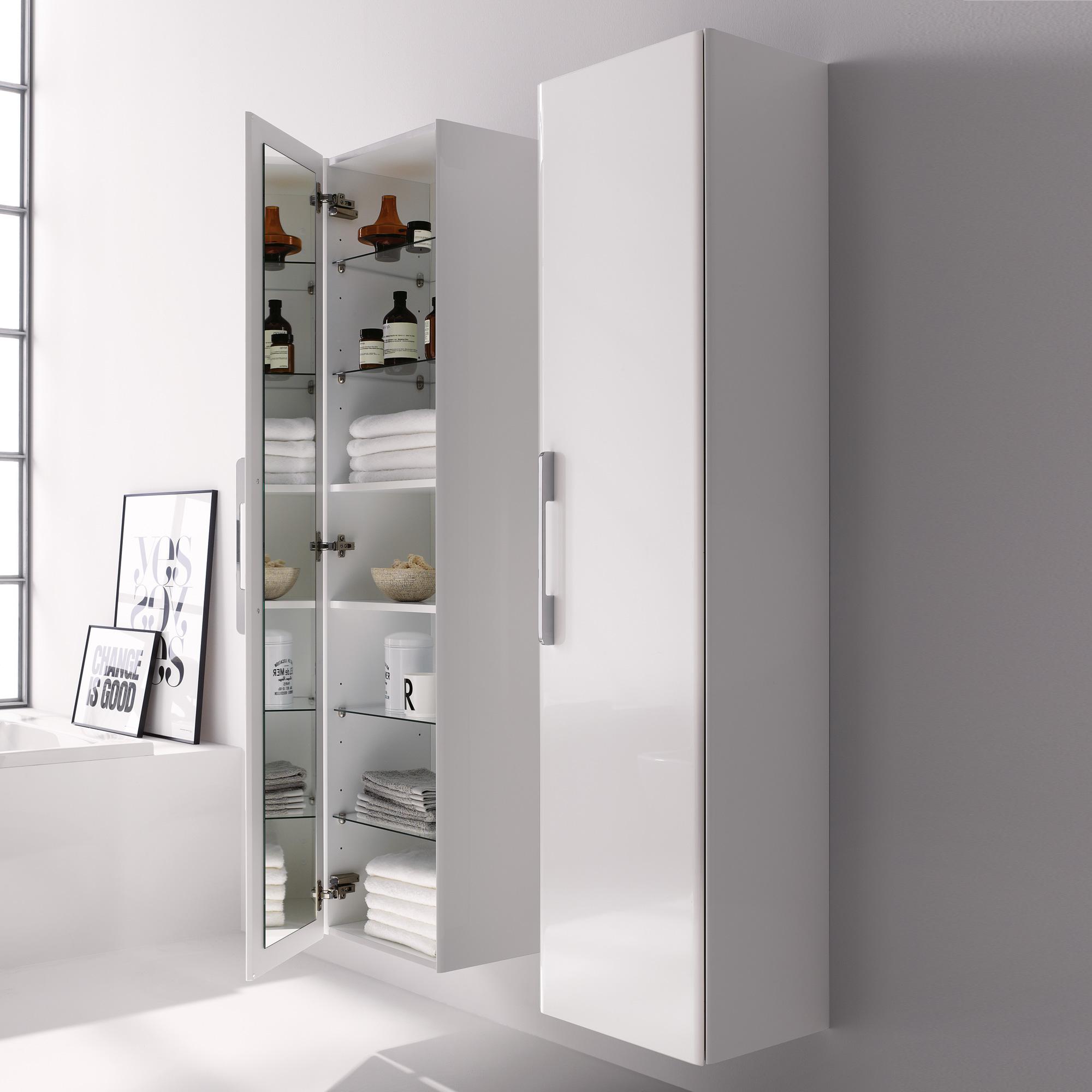 keramag it hochschrank wei hochglanz 819160000 reuter onlineshop. Black Bedroom Furniture Sets. Home Design Ideas
