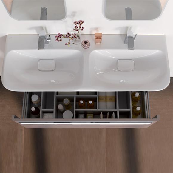 keramag myday doppelwaschtisch wei 135430000 reuter onlineshop. Black Bedroom Furniture Sets. Home Design Ideas