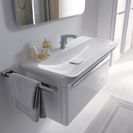 keramag myday waschtisch wei mit keratect 125480600. Black Bedroom Furniture Sets. Home Design Ideas