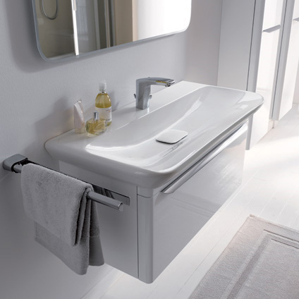 keramag myday waschtisch wei mit keratect 125480600 reuter onlineshop. Black Bedroom Furniture Sets. Home Design Ideas