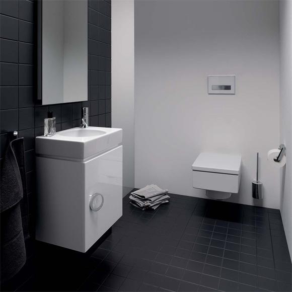 Keramag preciosa ii handwaschbecken wei 273240000 - Gaste wc fliesen oder streichen ...