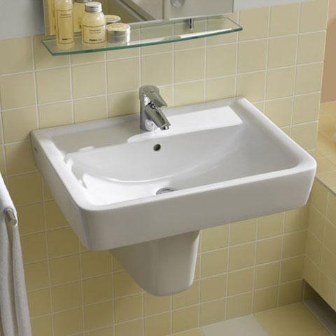 keramag renova nr 1 plan halbs ule f r waschtisch wei. Black Bedroom Furniture Sets. Home Design Ideas