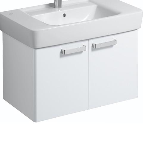 keramag renova nr 1 plan waschtischunterschrank korpus weiss front weiss hochglanz 879080000. Black Bedroom Furniture Sets. Home Design Ideas