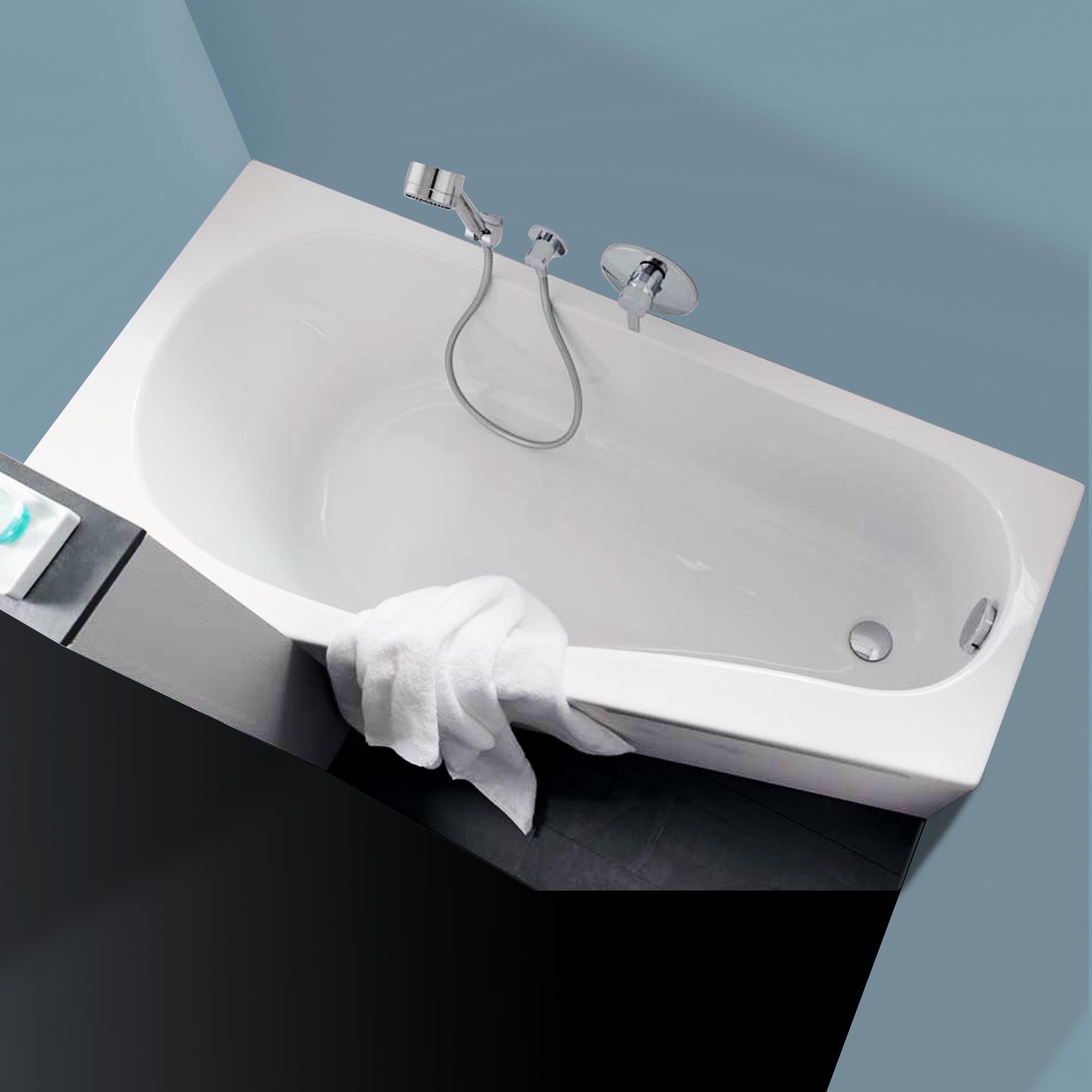 keramag renova nr 1 comprimo raumspar badewanne rechts. Black Bedroom Furniture Sets. Home Design Ideas