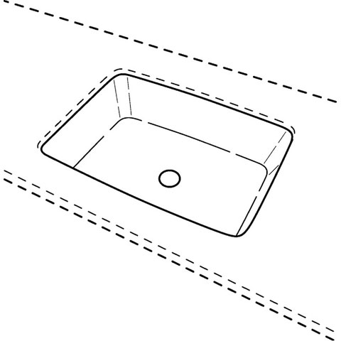 keramag renova nr 1 plan unterbauwaschtisch wei. Black Bedroom Furniture Sets. Home Design Ideas