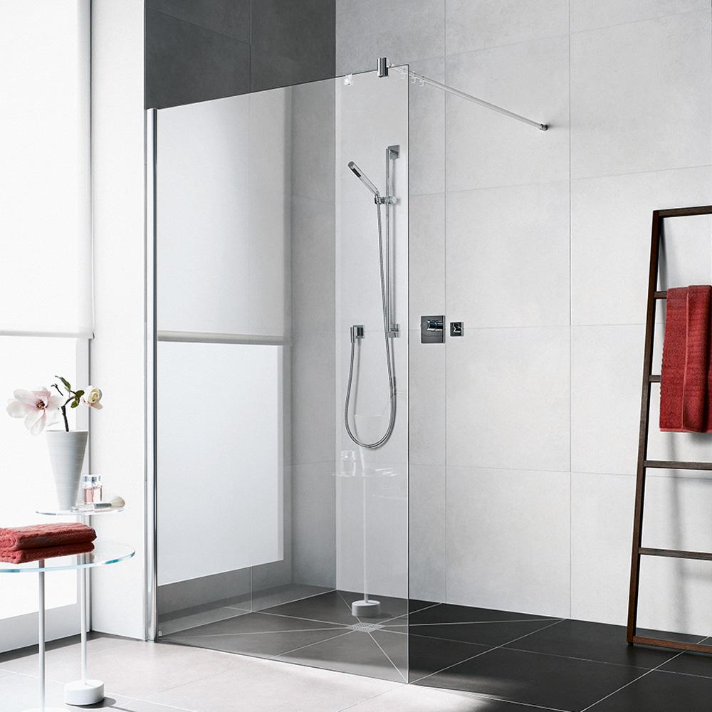 kermi diga walk in wall esg transparent mit kermiclean. Black Bedroom Furniture Sets. Home Design Ideas