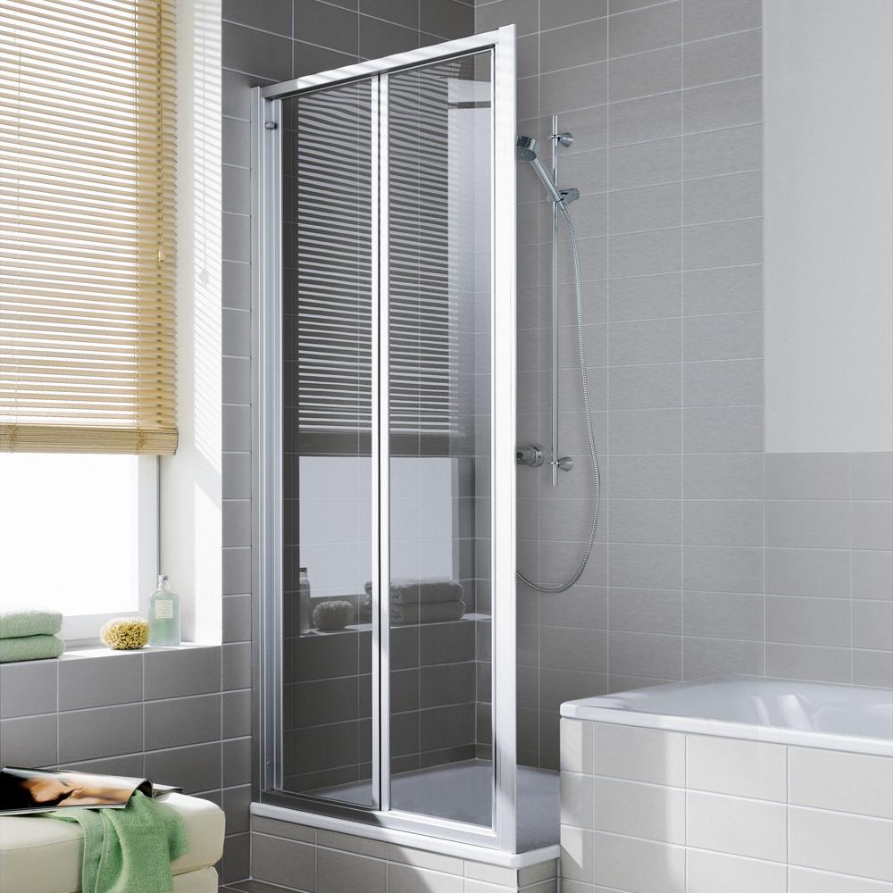 kermi ibiza 2000 faltt r esg transparent silber mattglanz i2ftd100181ak reuter onlineshop. Black Bedroom Furniture Sets. Home Design Ideas