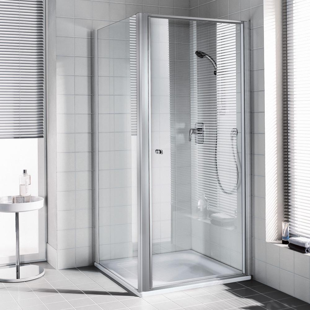 kermi ibiza 2000 schwingt r esg transparent silber. Black Bedroom Furniture Sets. Home Design Ideas