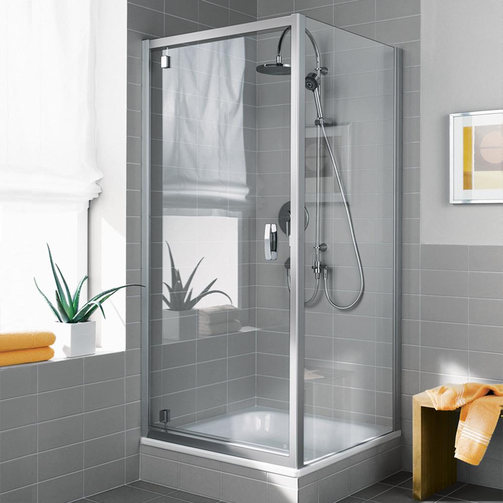 kermi ibiza 2000 schwingt r mit versetztem drehpunkt esg transparent silber mattglanz. Black Bedroom Furniture Sets. Home Design Ideas