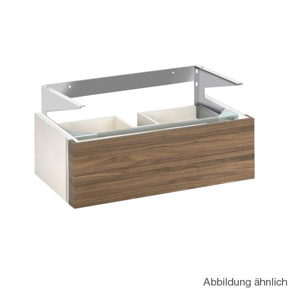 keuco edition 300 waschtischunterbau mit 2 ausz gen front. Black Bedroom Furniture Sets. Home Design Ideas