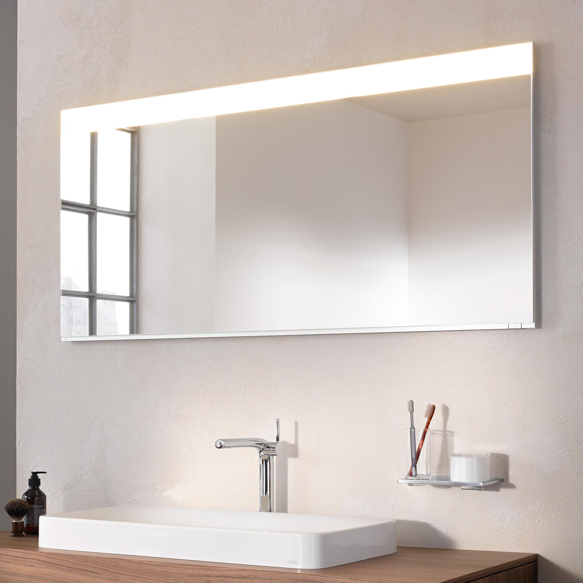 keuco edition 400 led lichtspiegel 11597172500 reuter onlineshop. Black Bedroom Furniture Sets. Home Design Ideas