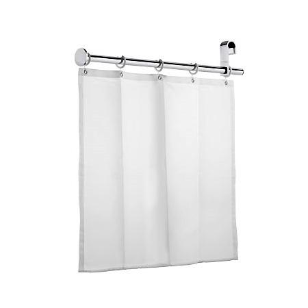 keuco plan care duschspritzschutz mit duschvorhang und 5 sen chrom 34940010001 reuter. Black Bedroom Furniture Sets. Home Design Ideas
