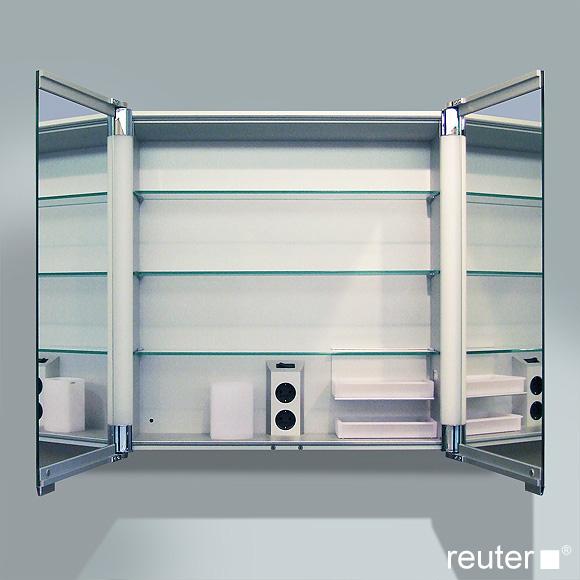 keuco royal t2 spiegelschrank ohne schubk sten 13801171301 reuter onlineshop. Black Bedroom Furniture Sets. Home Design Ideas