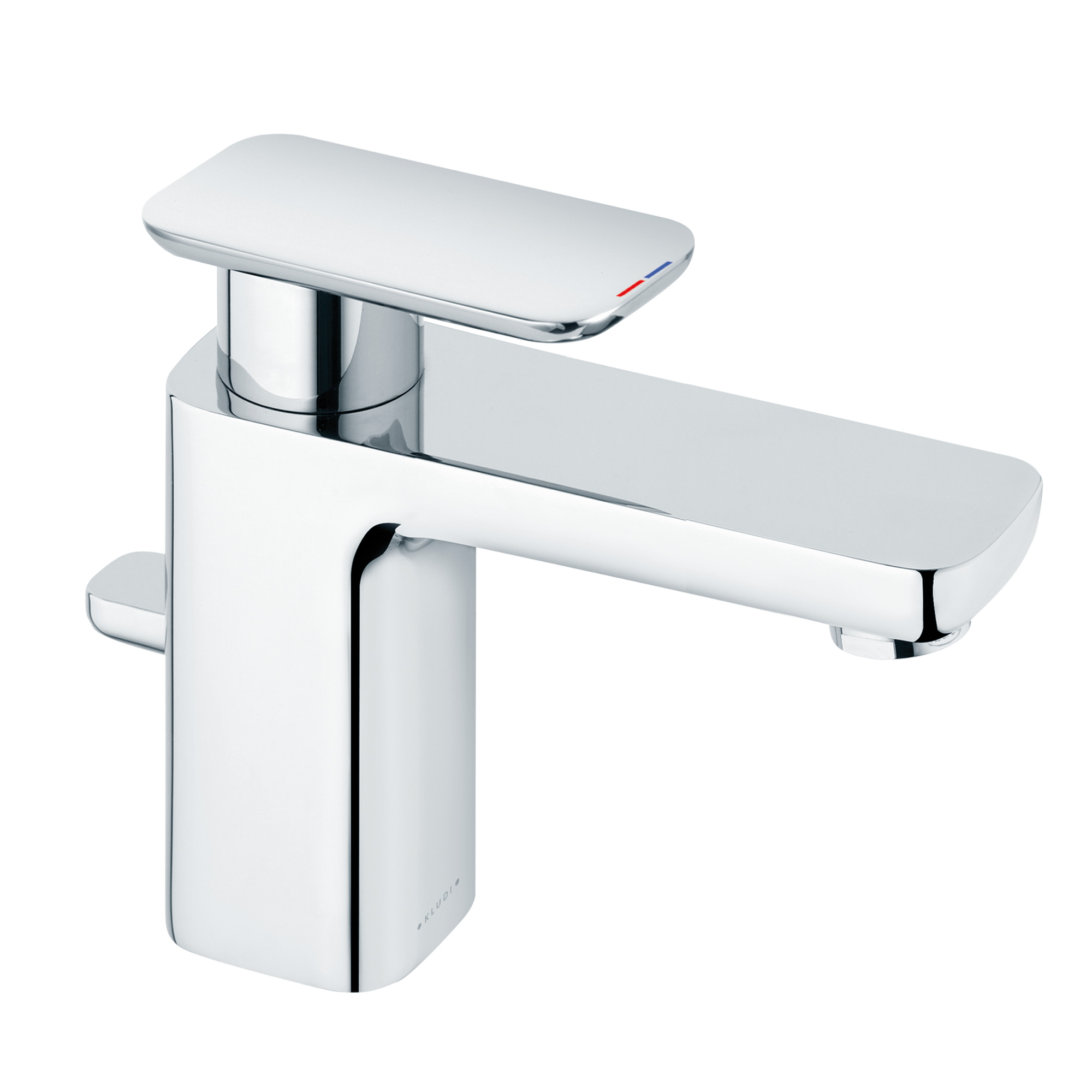 Kludi e2 waschtisch einhandmischer mit ablaufgarnitur for Waschtisch ablaufgarnitur