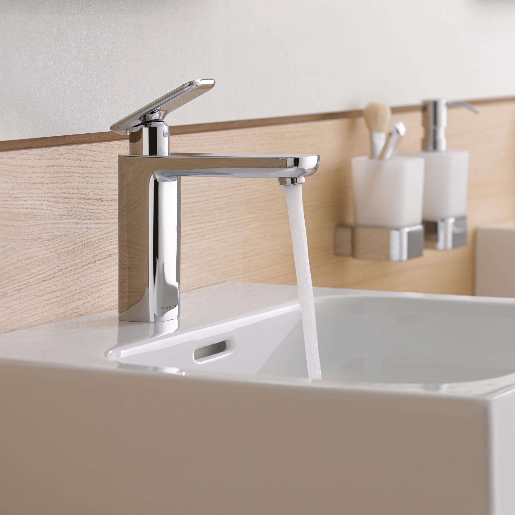 Kludi e2 waschtisch einhandmischer ohne ablaufgarnitur for Waschtisch ablaufgarnitur