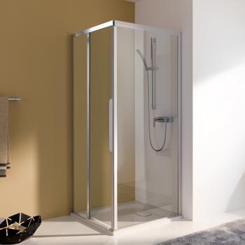 koralle myday comfort trennwand f r schiebet r w esg transparent silber matt l67123502524. Black Bedroom Furniture Sets. Home Design Ideas