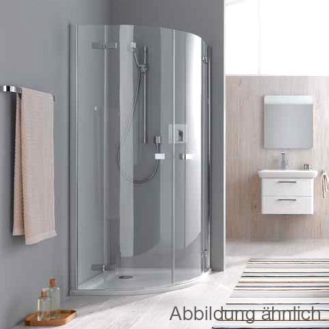 koralle s500plus viertelkreis duschabtrennung esg. Black Bedroom Furniture Sets. Home Design Ideas