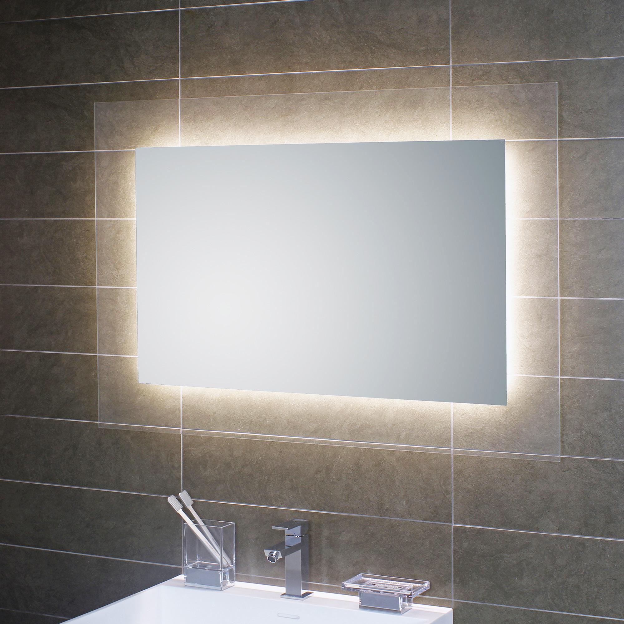 koh i noor geometrie 1 led spiegel hinterleuchtet l45939 reuter onlineshop. Black Bedroom Furniture Sets. Home Design Ideas