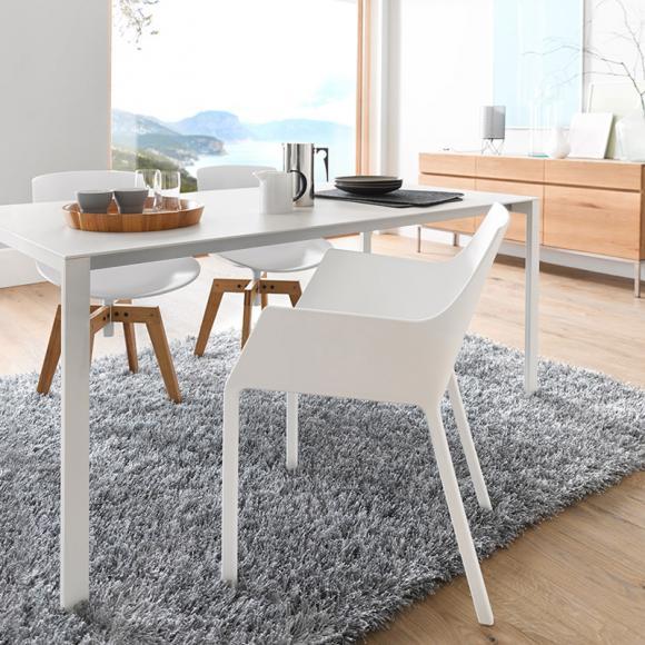 tisch ausziehbar weiss kristalia preisvergleiche erfahrungsberichte und kauf bei nextag. Black Bedroom Furniture Sets. Home Design Ideas
