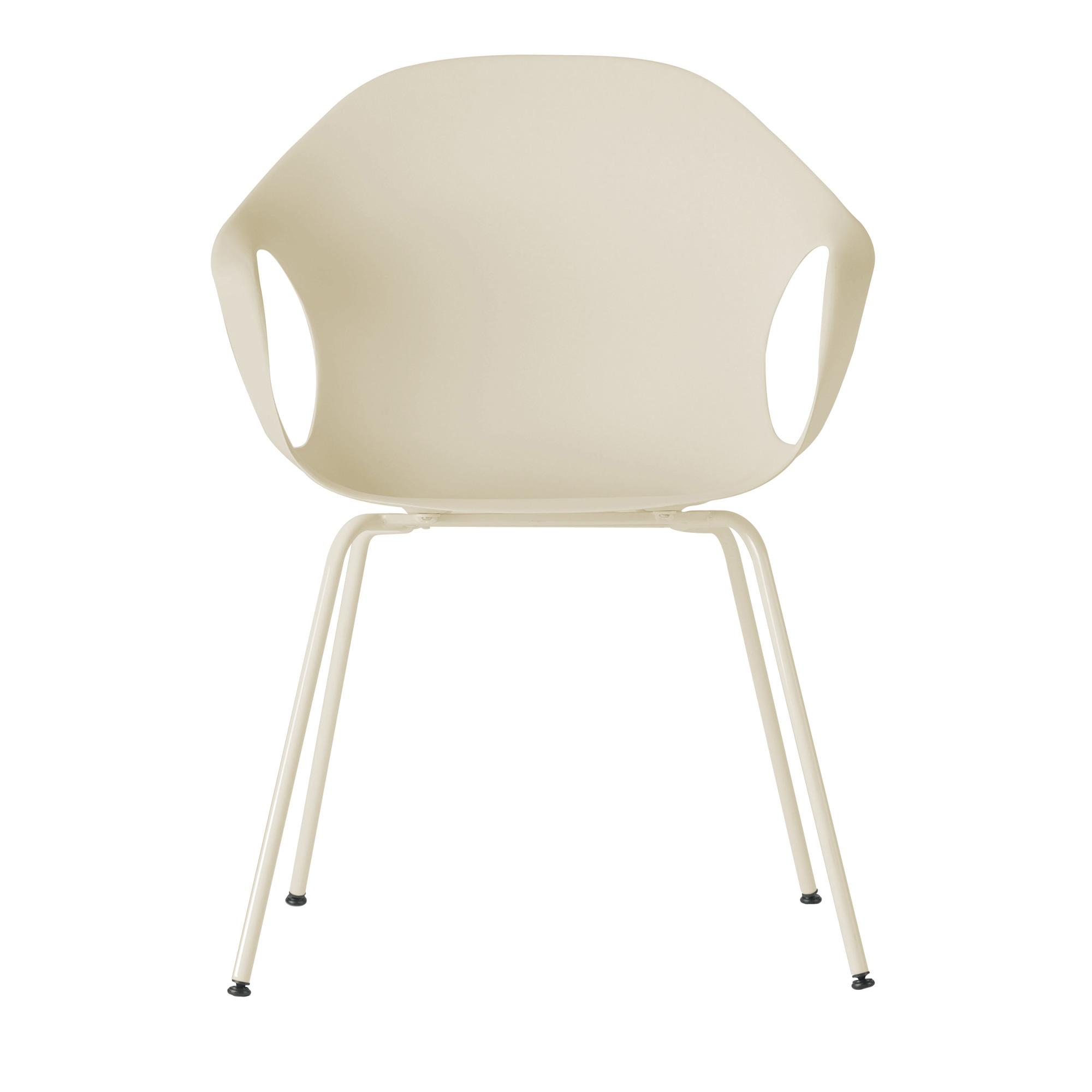 kristalia elephant sessel auf stahlbeinen 05ele11 beige. Black Bedroom Furniture Sets. Home Design Ideas