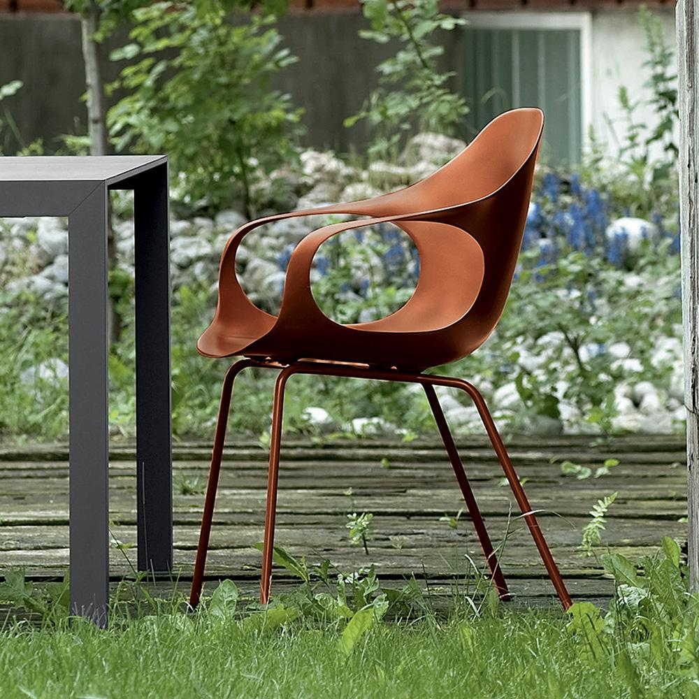 kristalia elephant sessel auf stahlbeinen 05ele11 terracotta p06 reuter onlineshop. Black Bedroom Furniture Sets. Home Design Ideas