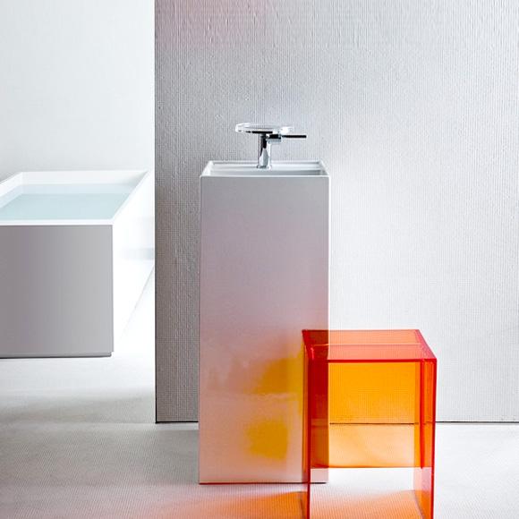 kartell by laufen waschtisch freistehend wei mit. Black Bedroom Furniture Sets. Home Design Ideas