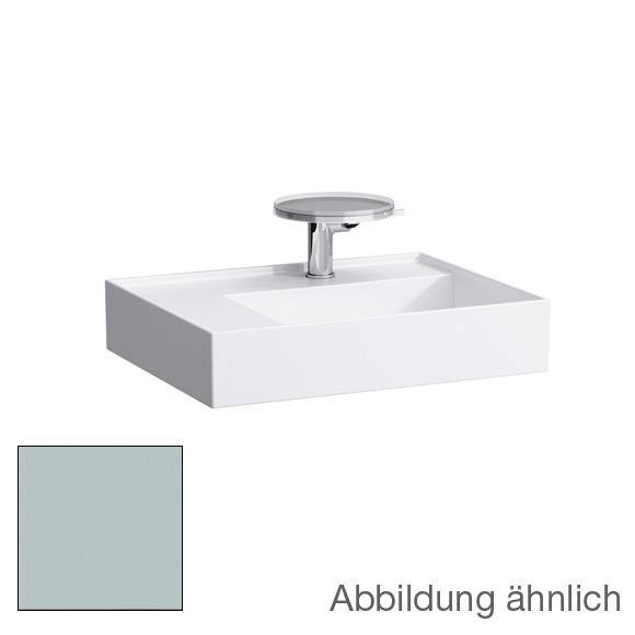 kartell by laufen waschtisch mit ablage grau matt ohne berlauf mit 1 hahnloch 8103357591111. Black Bedroom Furniture Sets. Home Design Ideas