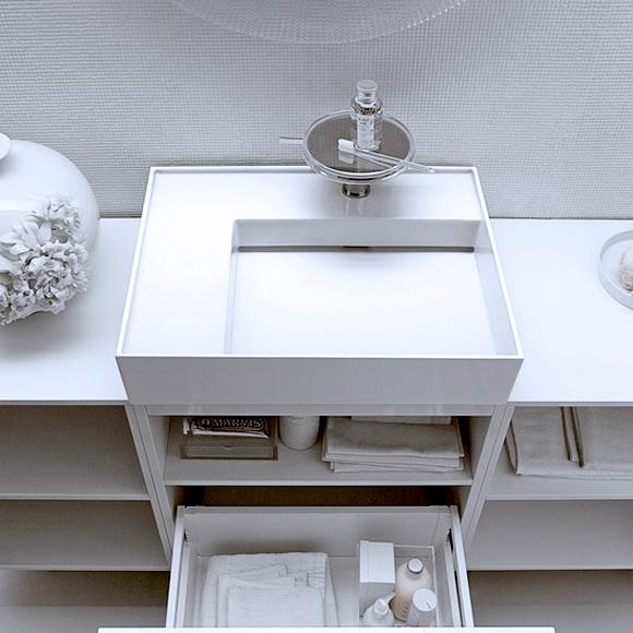 kartell by laufen waschtisch mit ablage wei matt ohne berlauf mit 1 hahnloch 8103357571111. Black Bedroom Furniture Sets. Home Design Ideas