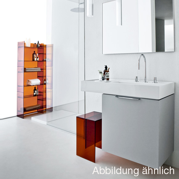 kartell by laufen waschtisch mit ablage wei mit cleancoat. Black Bedroom Furniture Sets. Home Design Ideas